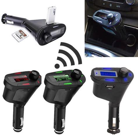 Hansfree Bluetooth Fm Transmitter Car Kit Mp3 Player A2dp car kit bluetooth free fm transmitter mp3 player usb charger alex nld