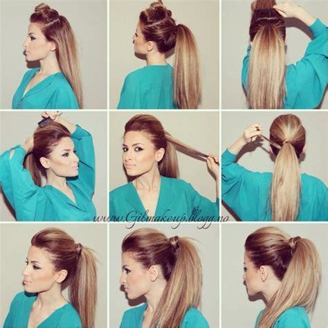 diy hairstyles ponytail diy perfect party ponytail pictures photos and images