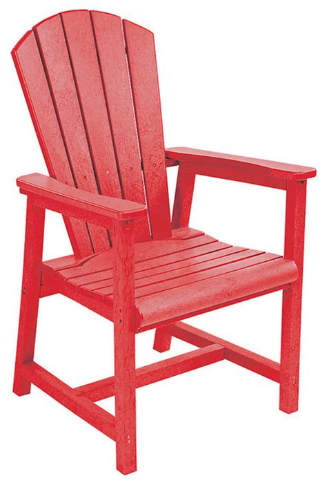 Adirondack Style Chairs by Generations Arm Dining Adirondack Style Chair