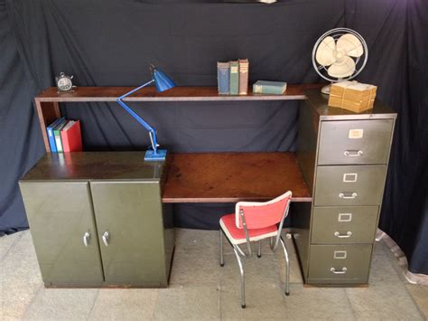 Vintage Metal Office Desk Office Furniture Photo Yvotube