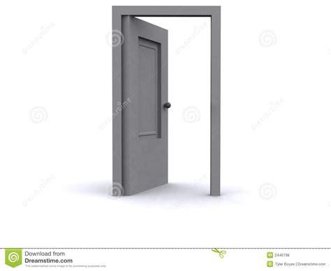 3d Door by 3d Door Royalty Free Stock Photos Image 2446798
