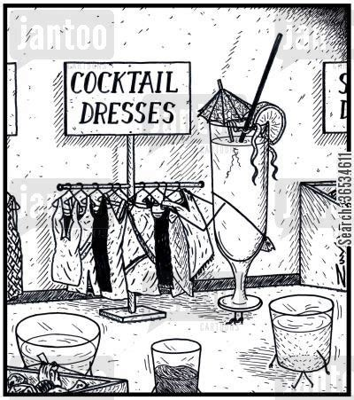 cocktail party cartoon cocktail party cartoons humor from jantoo cartoons