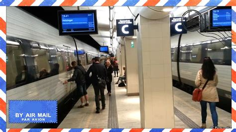 Copenhagen To Queue For Shortcut 4 by New N 248 Rreport Station Regional Platform Renovated