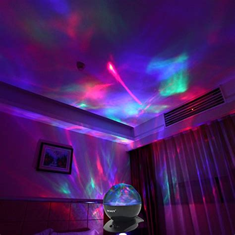bedroom light show soaiy color changing projection led light