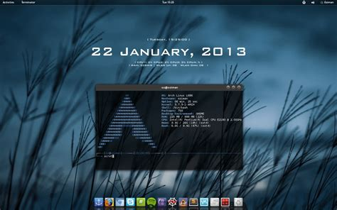 archlinux gnome themes extras arch linux gnome by ozimanhf on deviantart