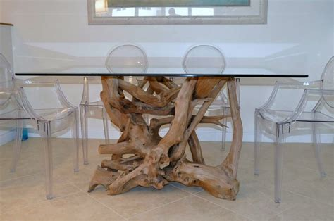 driftwood dining room table driftwood dining room table