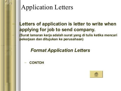 Application Letter To Hrd Korespondensi Inggris