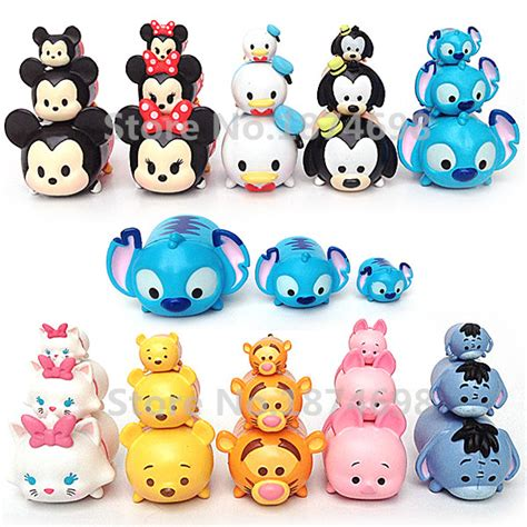 Figure Tsum Tsum Seri Set tsum tsum figures mini stack 30 pcs set mickey minnie donald goofy piglet eeyore tigger