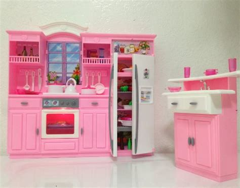 barbie kitchen furniture barbie size dollhouse furniture my fancy life kitchen