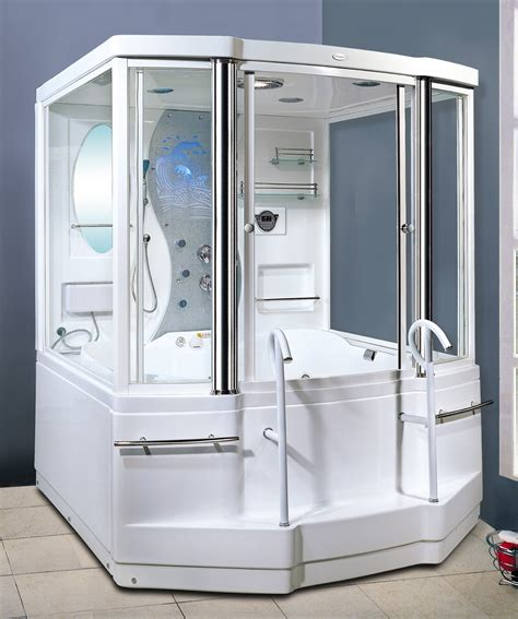 shower stall bathtub image gallery jacuzzi steam shower