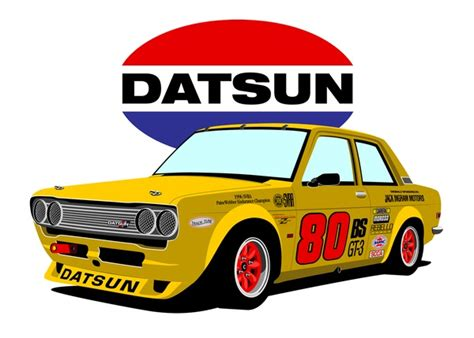 Tshirt Datsun 510 Blubird Bre by Datsun 510 Race Car I Used To A 510 Machines