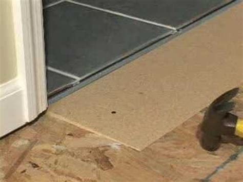 Learn how to solve all your flooring transition problems