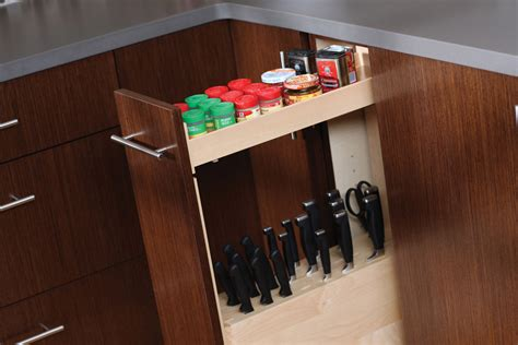 cutlery cabinet cardinal kitchens baths storage solutions 101 pull