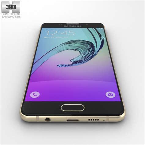 New Samsung A5 2016 Warna Gold samsung galaxy a5 2016 chagne gold 3d model humster3d