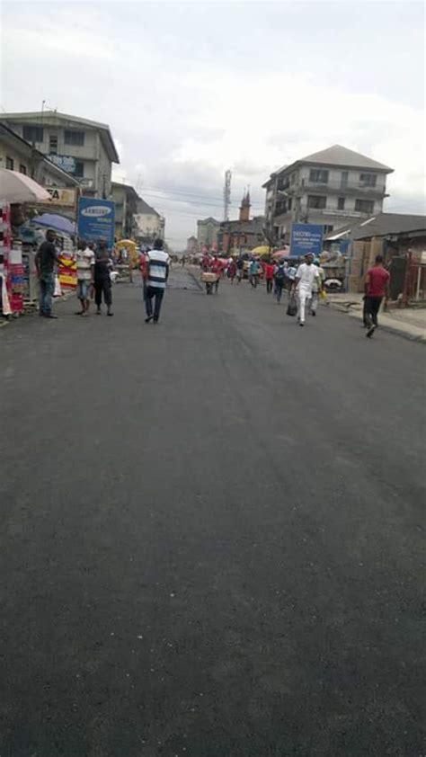 ikpeazu flags  reconstruction  port harcourt road aba