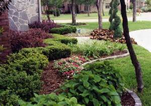 Fall Curb Appeal - flower plants amp trees green meadows landscaping design lawn maintenance dallas and ne