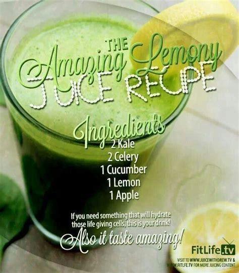 Lemon Celery Detox by Juice Recipe Health Fitness That I