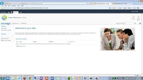 change site image and home page image in sharepoint 2010