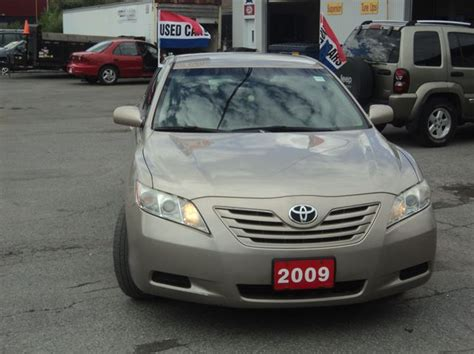 2009 Toyota Camry Gas Mileage 2009 Toyota Camry Le Ottawa Ontario Used Car For Sale