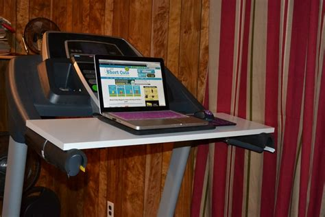 How To Make Your Own Treadmill Desk A Few Shortcuts Diy Treadmill Desk
