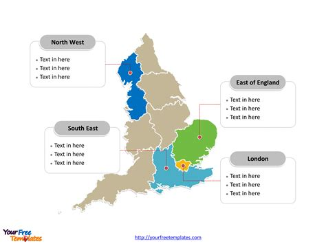 of manchester powerpoint template free map templates free powerpoint templates