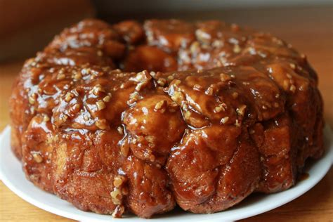 monkey bed wednesday baking caramel monkey bread the frugal girl
