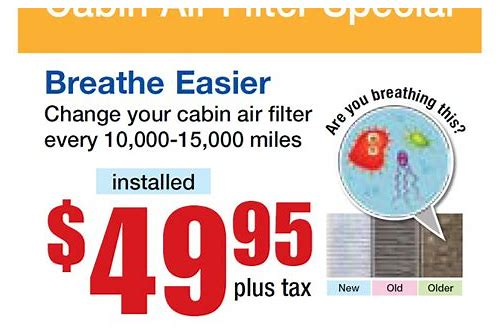 air filter coupon code
