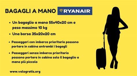 liquidi da portare in aereo ryanair bagaglio a mano ryanair misure peso e consigli le