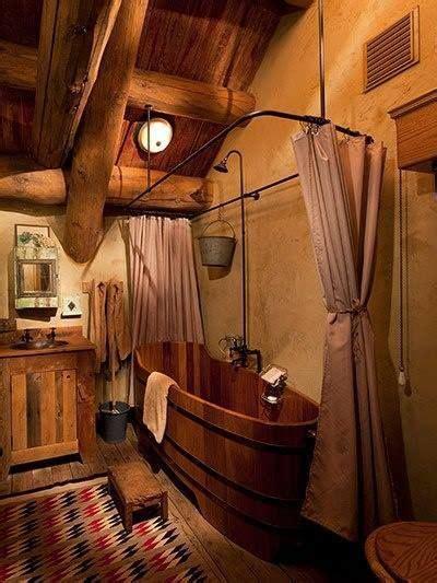 hutte primitive pourquoi pas une baignoire en bois badewannen h 252 tten