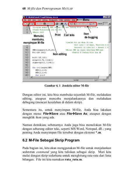 Belajar Pemrograman Fortran Cd mat lab