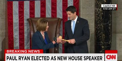 who is the speaker of the house paul ryan elected speaker of the house business insider