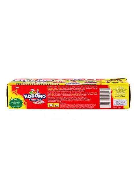 Pasta Gigi Kodomo kodomo pasta gigi anak anak strawberry tub 45g klikindomaret
