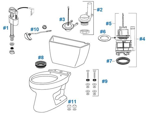 Drakes Plumbing Supplies by Toto Toilet Replacement Parts