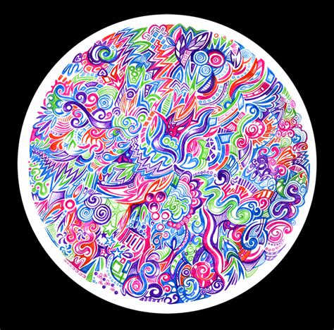 circle pattern drawings tumblr rainbow circle pattern by zyari on deviantart