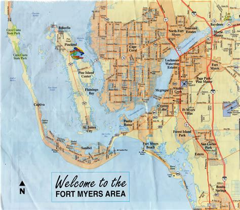 cape coral map of florida about us planetppg
