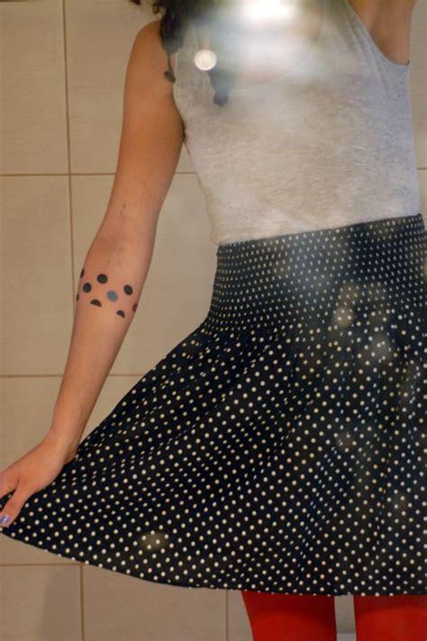polka dot tattoo polka dots tat2