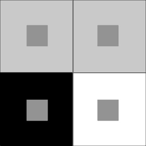 contrast color for grey simultaneous contrast induction