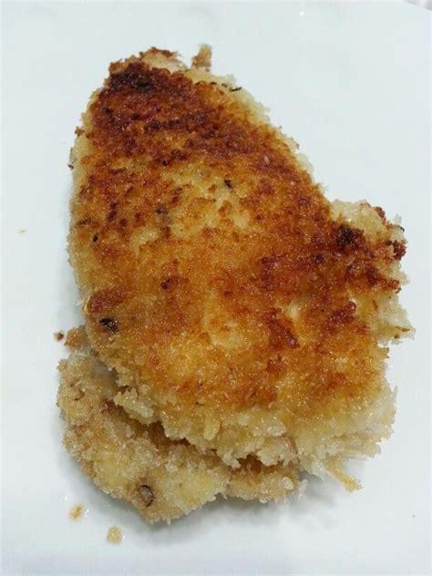 pan fry chicken breast with bread crumbs lg oriental food pintere