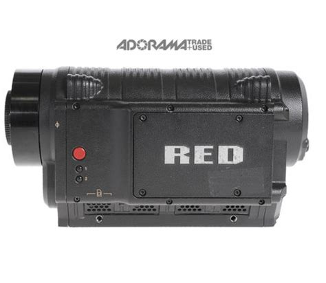 with the weapon camera coming what is a red one now worth