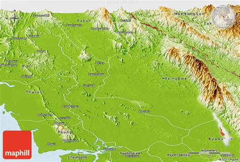 physical map of pennsylvania physical panoramic map of pa an