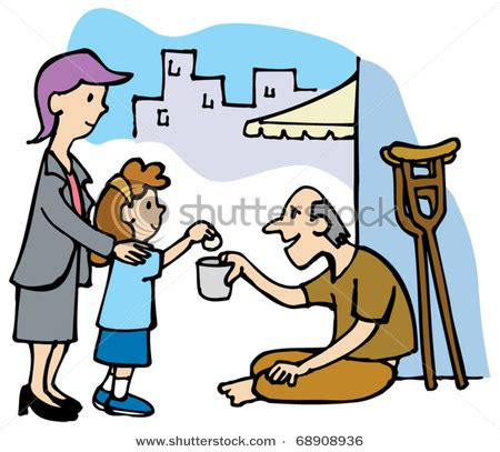 giving money to the poor | clipart panda free clipart images