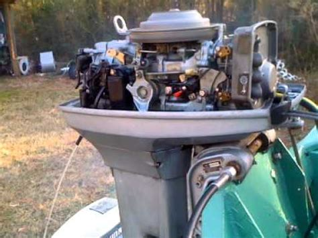 1985 50 hp evinrude outboard motor 122 123 compression