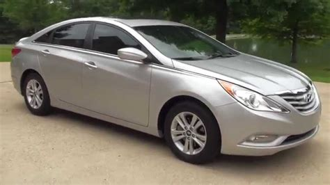 Hyundai Sonata Gls 2013 by Hd 2013 Hyundai Sonata Gls Silver Used For Sale See