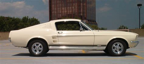 1967 mustang colors
