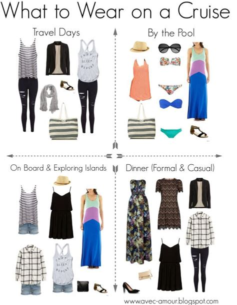What To Wear Day Of Business School Mba by What To Wear On A Cruise Travel