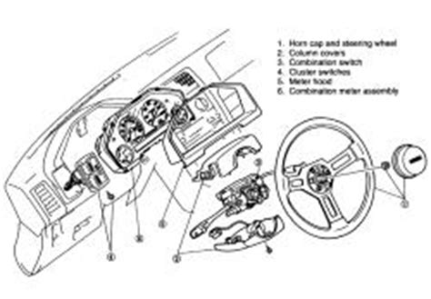 repair windshield wipe control 1987 mazda familia instrument cluster repair guides instruments and switches instrument