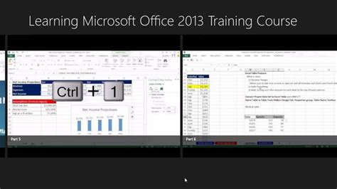 ms excel 2013 advanced tutorial learning microsoft office 2013 training course windows