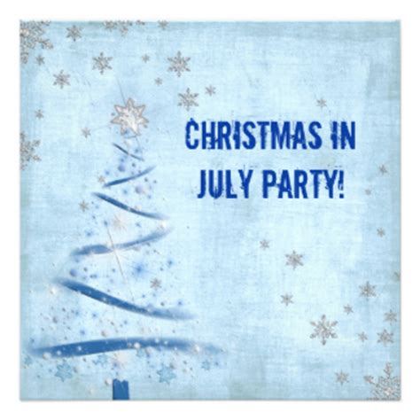 183 christmas in july invitations christmas in july
