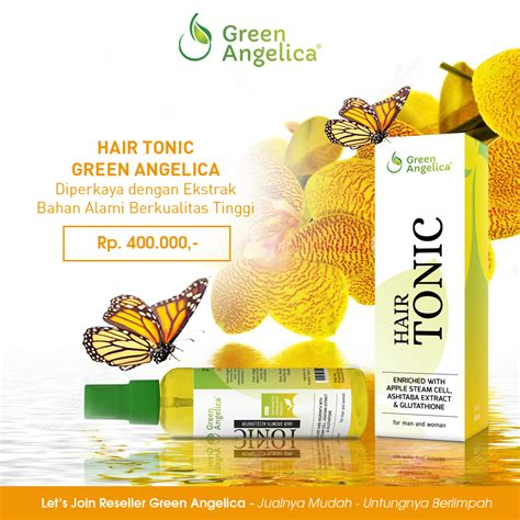 Green Hair Tonic Penumbuh Rambut Obat Bo cara mengatasi rambut yang rontok obat penumbuh rambut