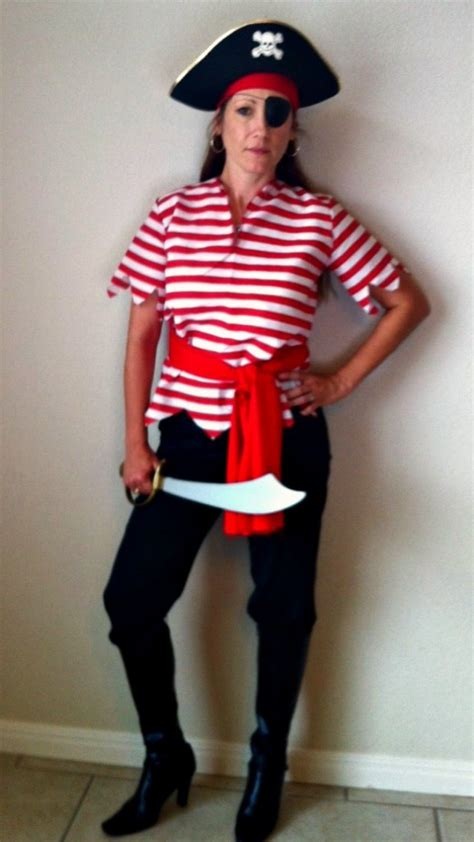 simple pirate costume idea motherhood archives foster2forever